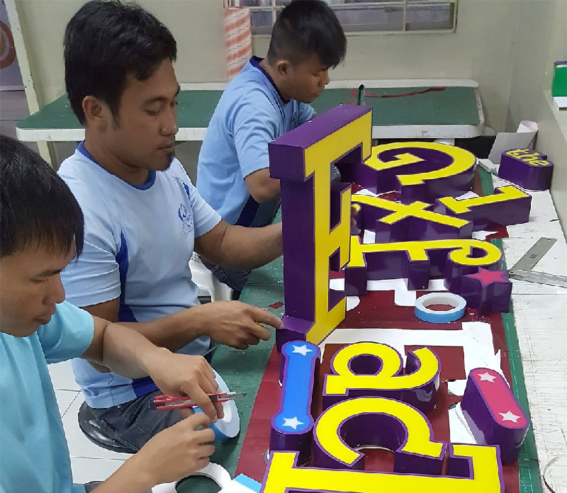 signage maker in philippines