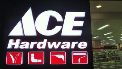acrylic shop signs